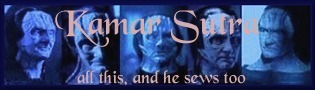 Elim Garak - all this, and he sews too!